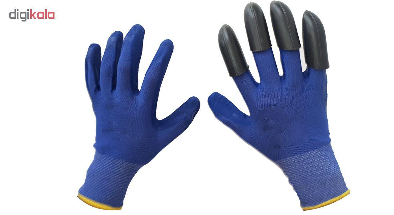 دستکش ایمنی گاردن جنی گلووس کد 002 main 1 5