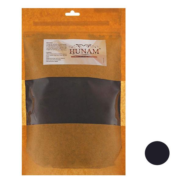 پودر پرپشت کننده مو هونام کد 01 وزن 600 گرم رنگ مشکی