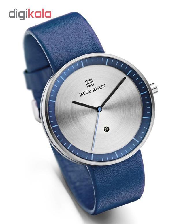 ساعت مچی عقربه ای مردانه جیکوب جنسن مدل Strata 272