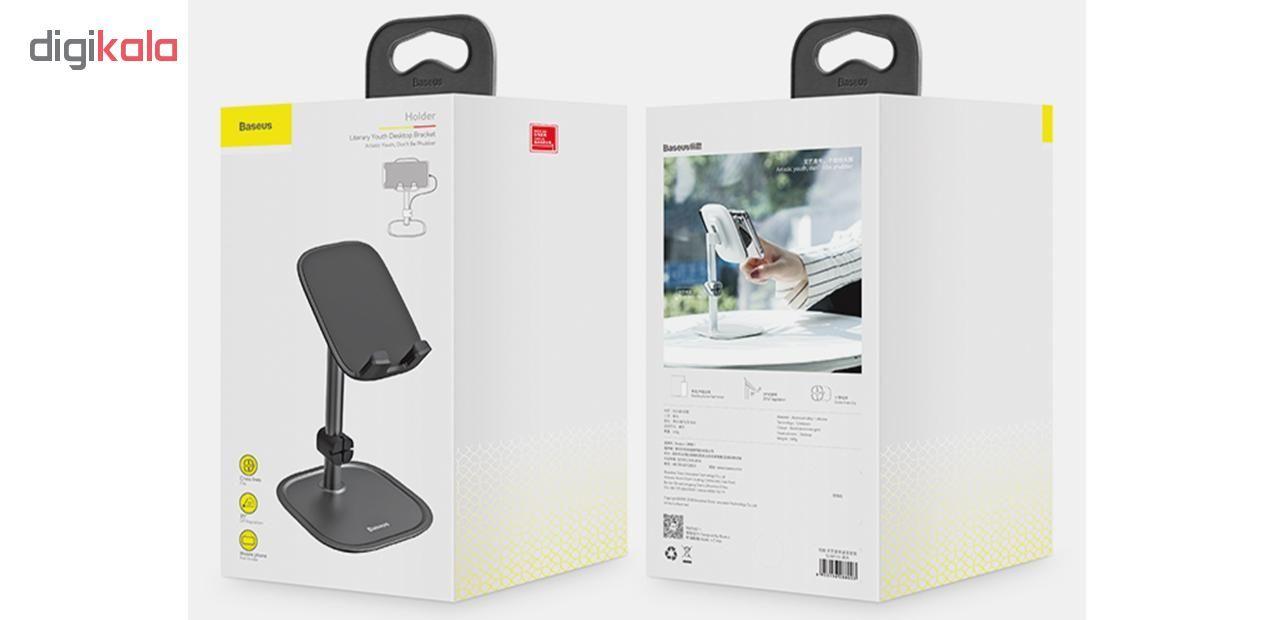 پایه نگهدارنده گوشی موبایل و تبلت باسئوس مدل SUWY main 1 12