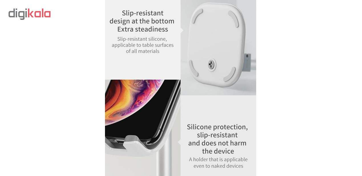 پایه نگهدارنده گوشی موبایل و تبلت باسئوس مدل SUWY main 1 14