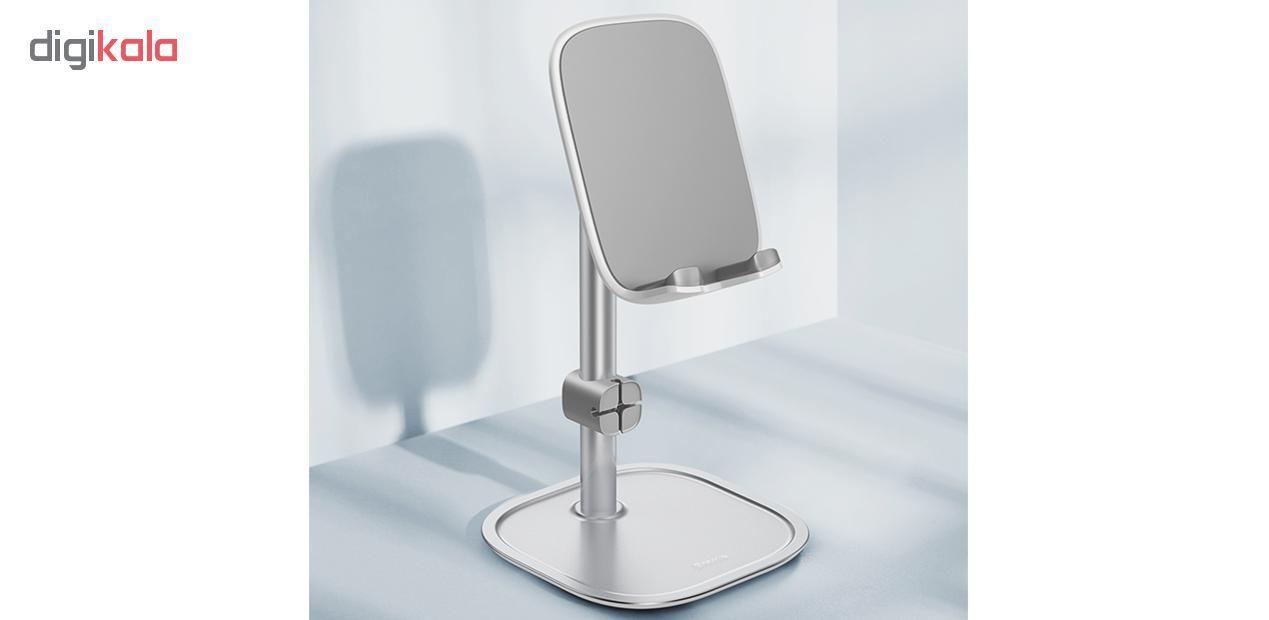 پایه نگهدارنده گوشی موبایل و تبلت باسئوس مدل SUWY main 1 15