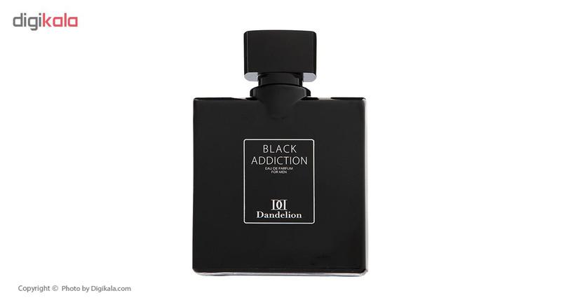 ادو پرفیوم مردانه دندلیون مدل Black Addiciton حجم 100 میلی لیتر