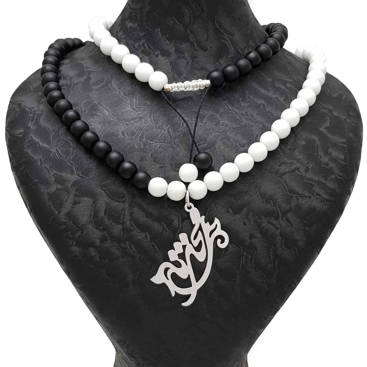 قیمت گردنبند زنانه طرح  اسم محدثه کد B075