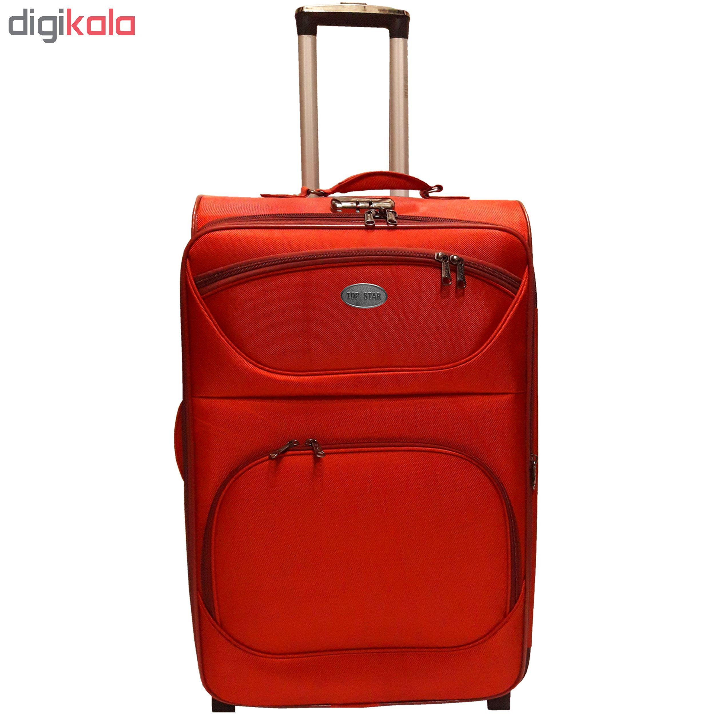 چمدان تاپ استار مدل T2 سایز متوسط