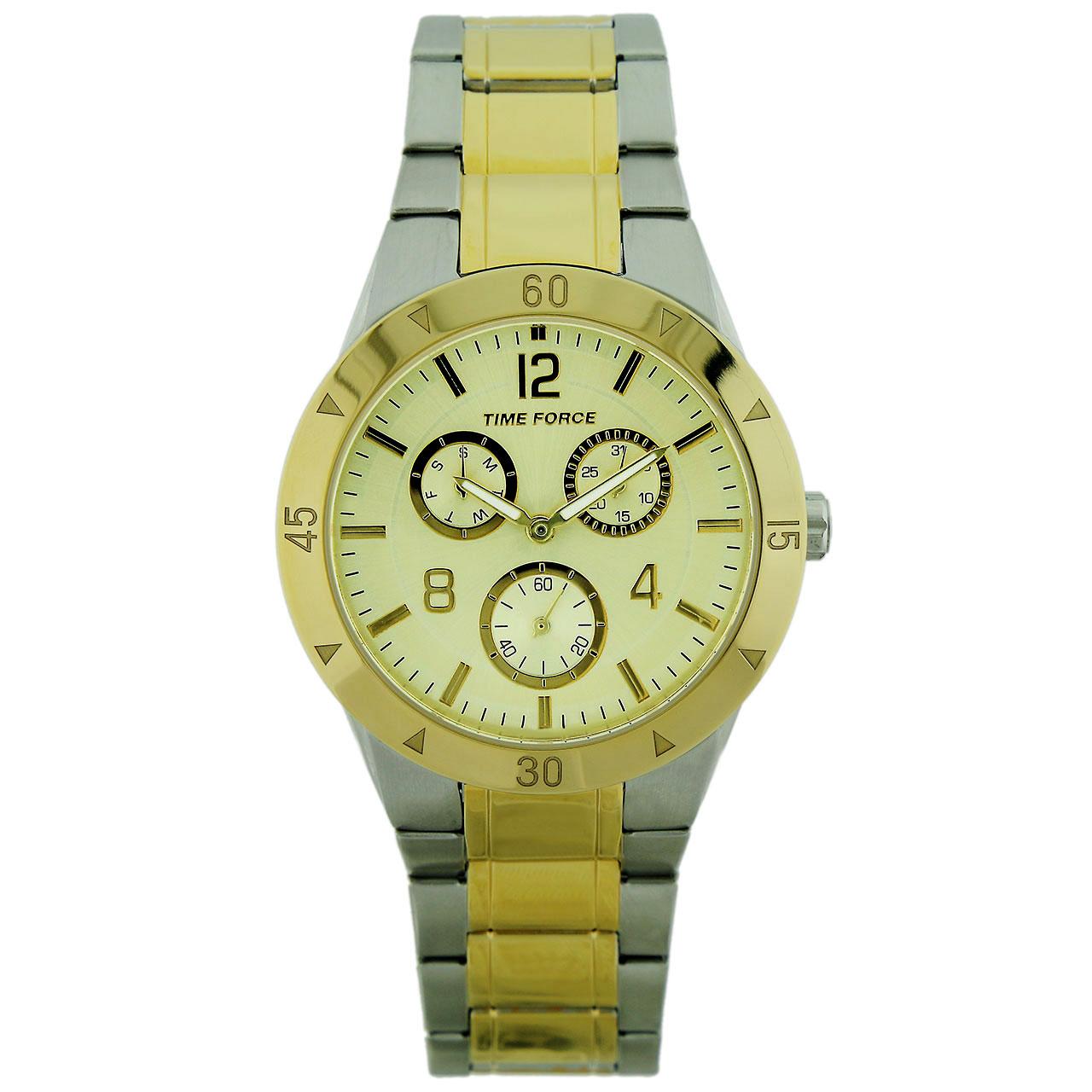 ساعت مچی عقربه ای مردانه تایم فورس مدل TF4196L19M