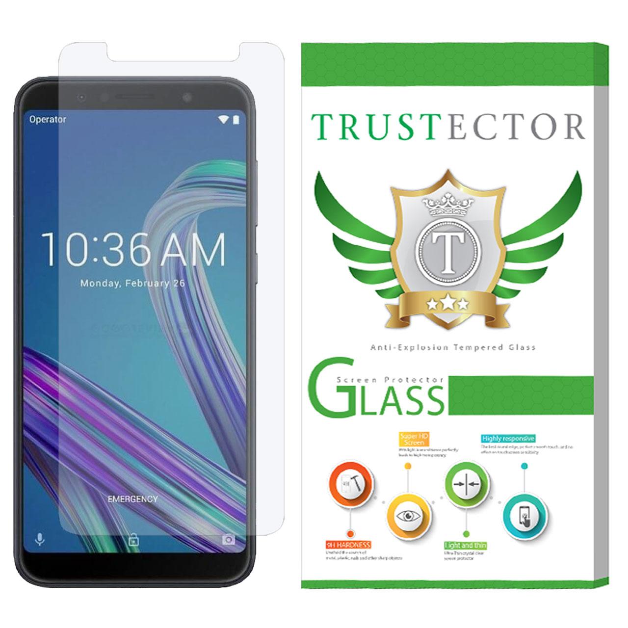 محافظ صفحه نمایش تراستکتور مدل GLS مناسب برای گوشی موبایل ایسوس Zenfone Max Pro M1 ZB602K              ( قیمت و خرید)
