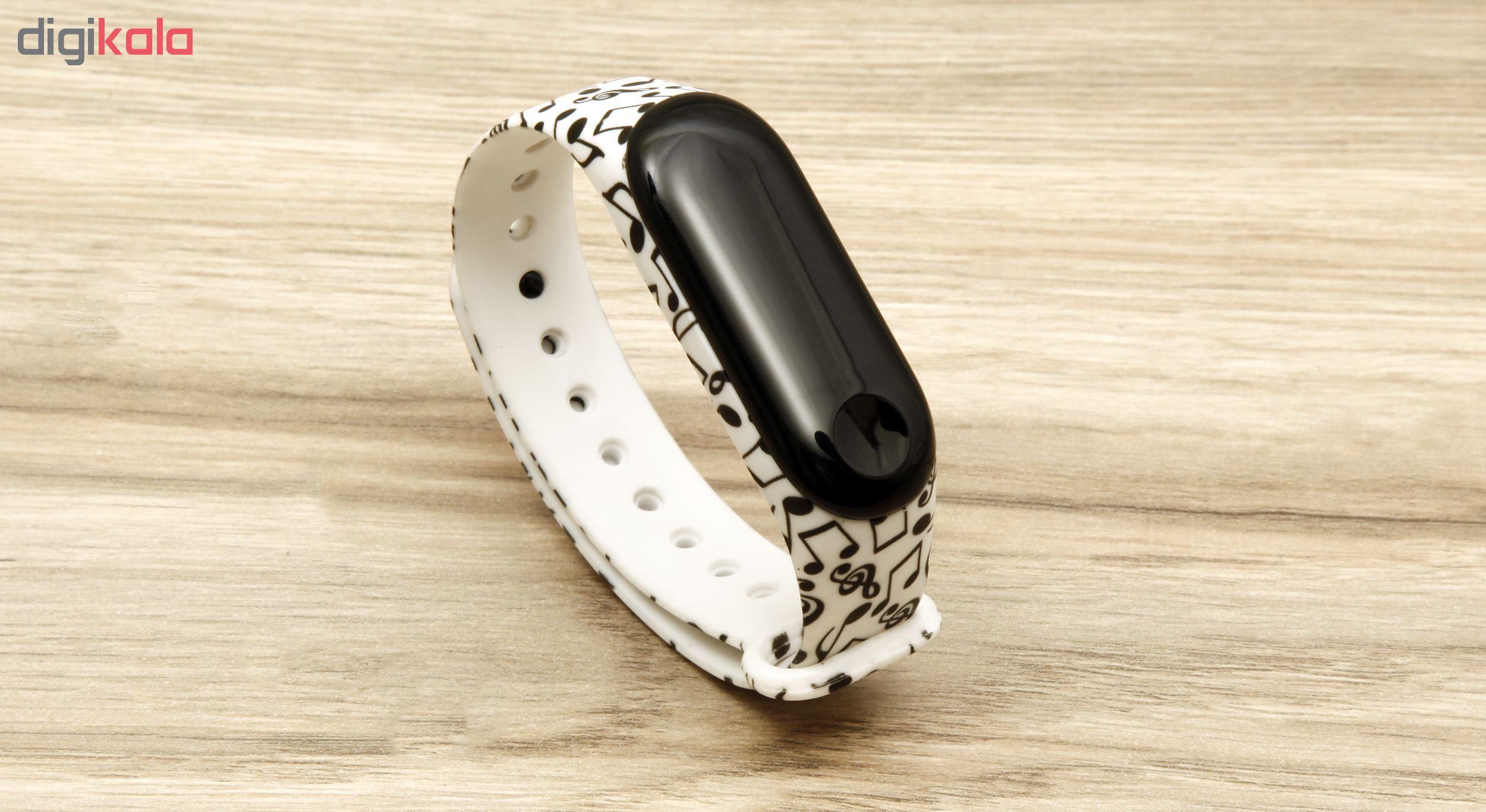بند مچ بند هوشمند سومگ مدل SMG-13 مناسب برای مچ بند هوشمند شیائومی Mi Band 3 و M3 main 1 2