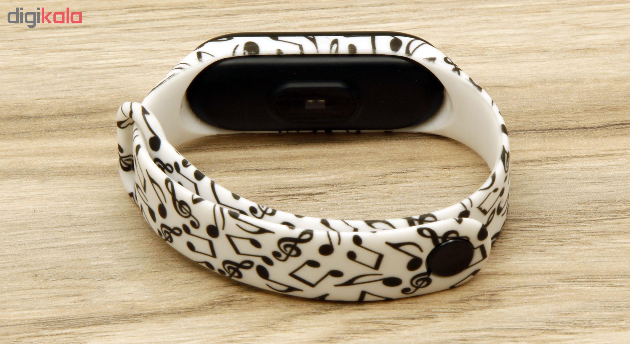 بند مچ بند هوشمند سومگ مدل SMG-13 مناسب برای مچ بند هوشمند شیائومی Mi Band 3 و M3 main 1 5