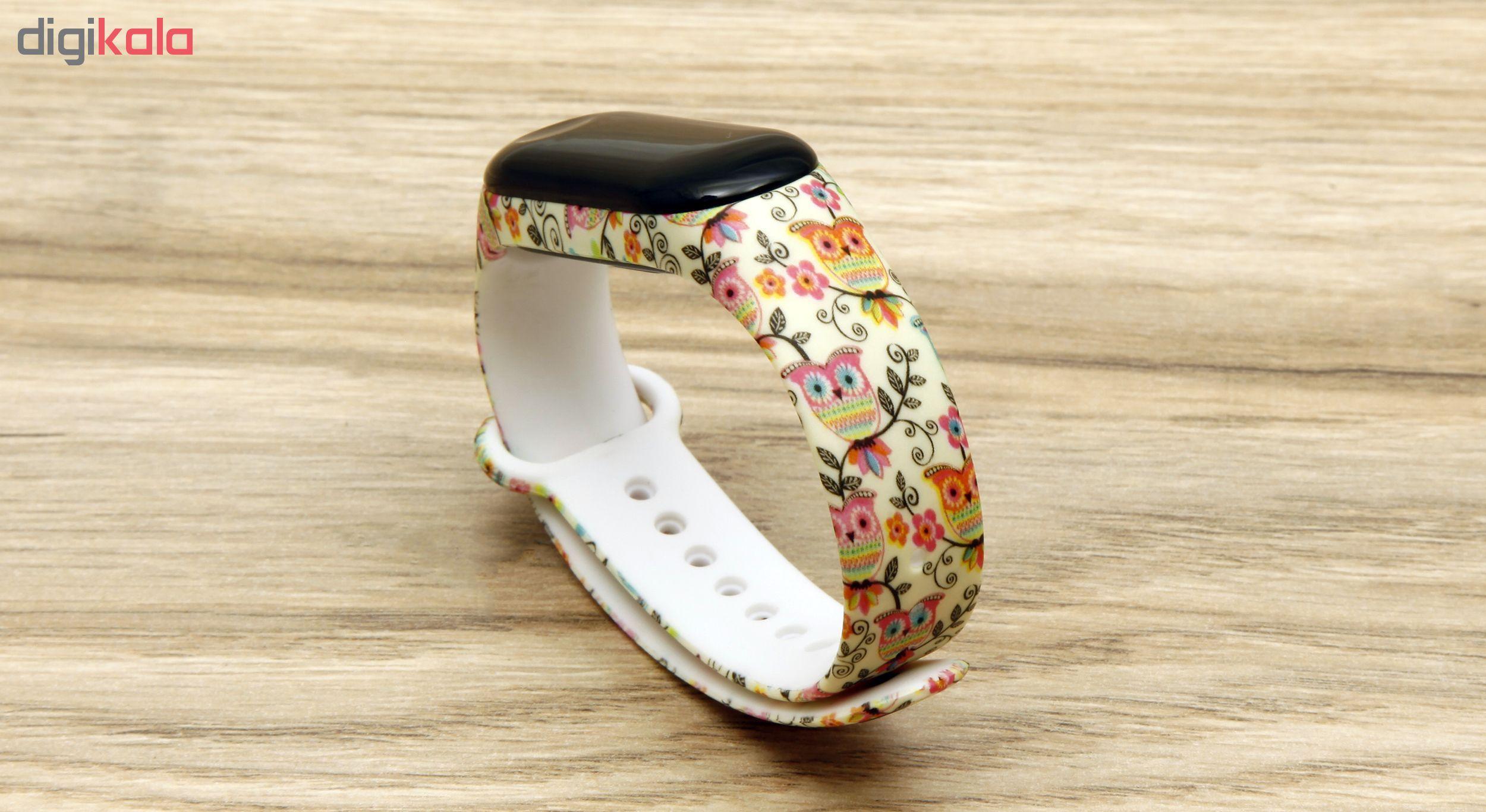بند مچ بند هوشمند سومگ مدل  SMG-14 مناسب برای مچ بند هوشمند شیائومی Mi Band 3 و M3 main 1 1