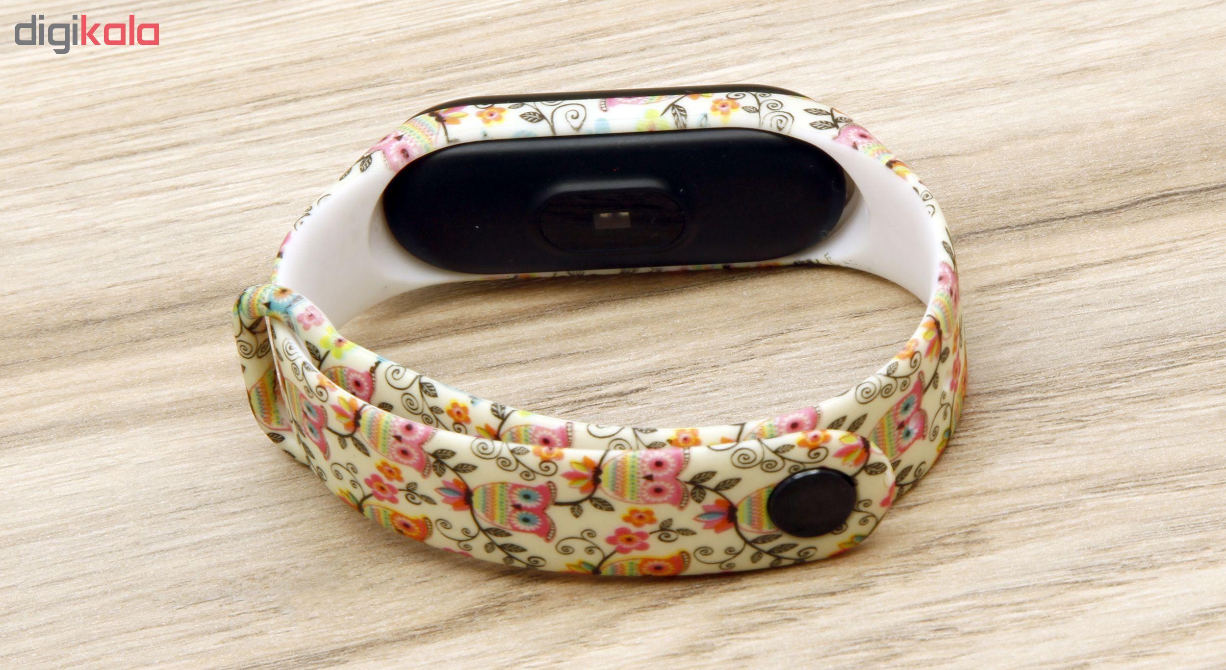 بند مچ بند هوشمند سومگ مدل  SMG-14 مناسب برای مچ بند هوشمند شیائومی Mi Band 3 و M3 main 1 3