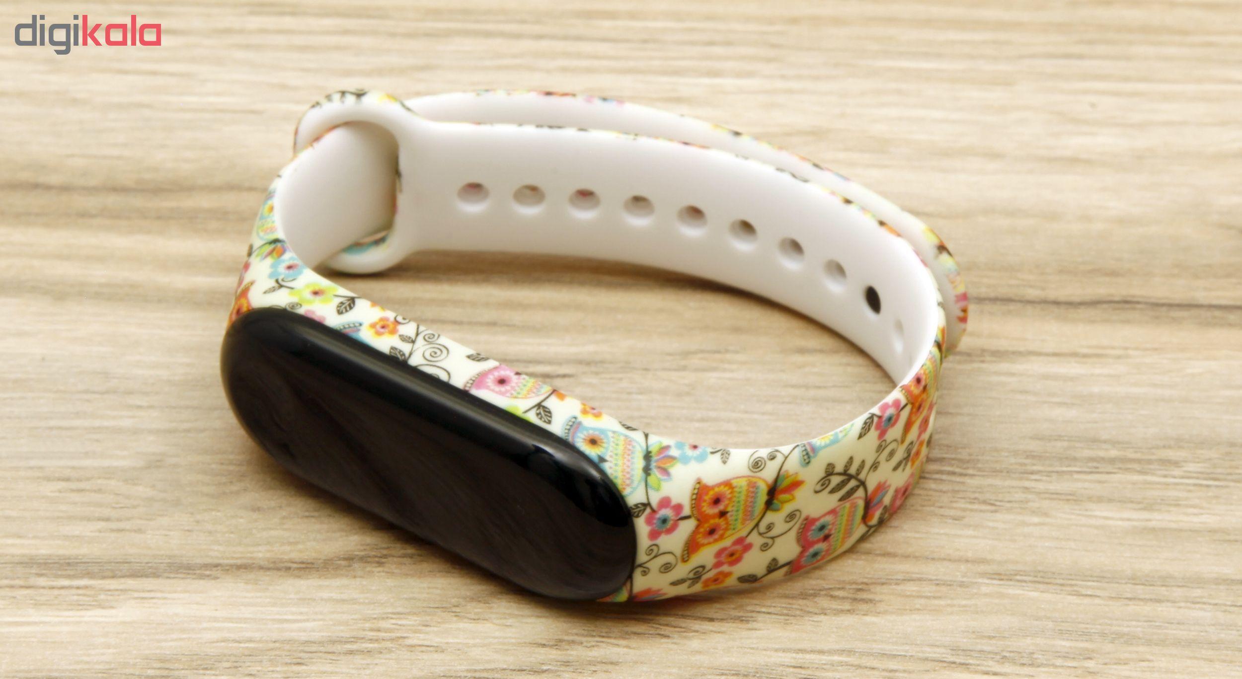 بند مچ بند هوشمند سومگ مدل  SMG-14 مناسب برای مچ بند هوشمند شیائومی Mi Band 3 و M3 main 1 4