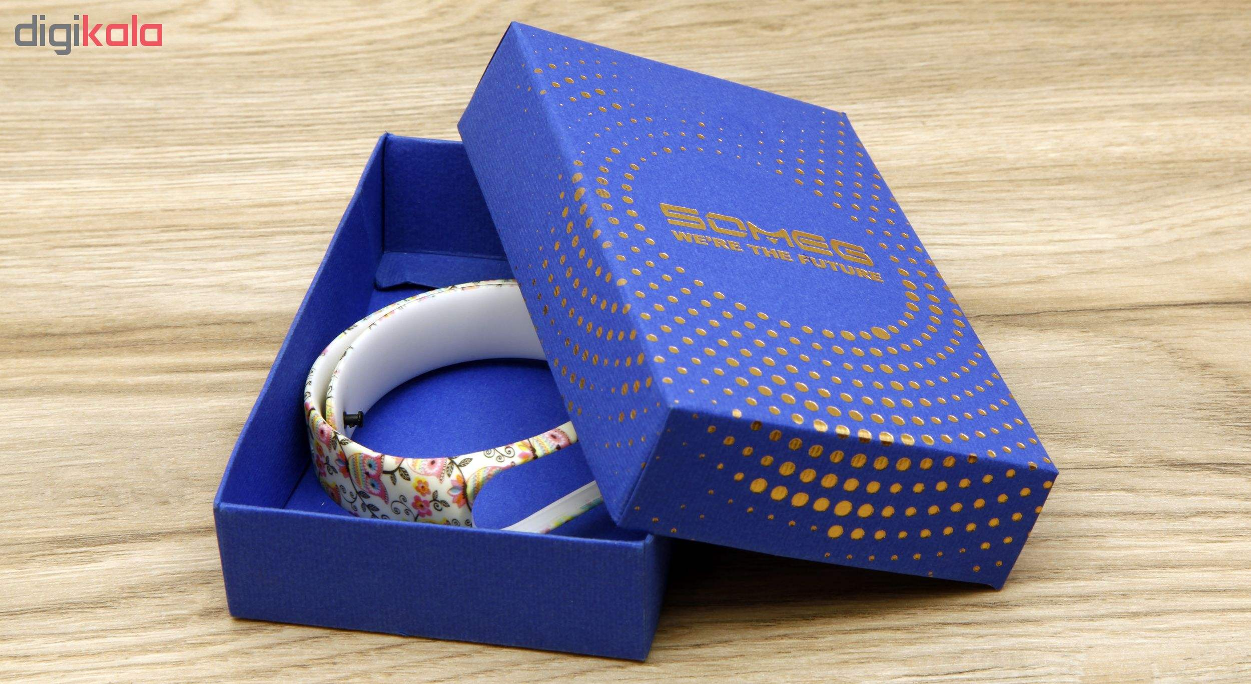 بند مچ بند هوشمند سومگ مدل  SMG-14 مناسب برای مچ بند هوشمند شیائومی Mi Band 3 و M3 main 1 6
