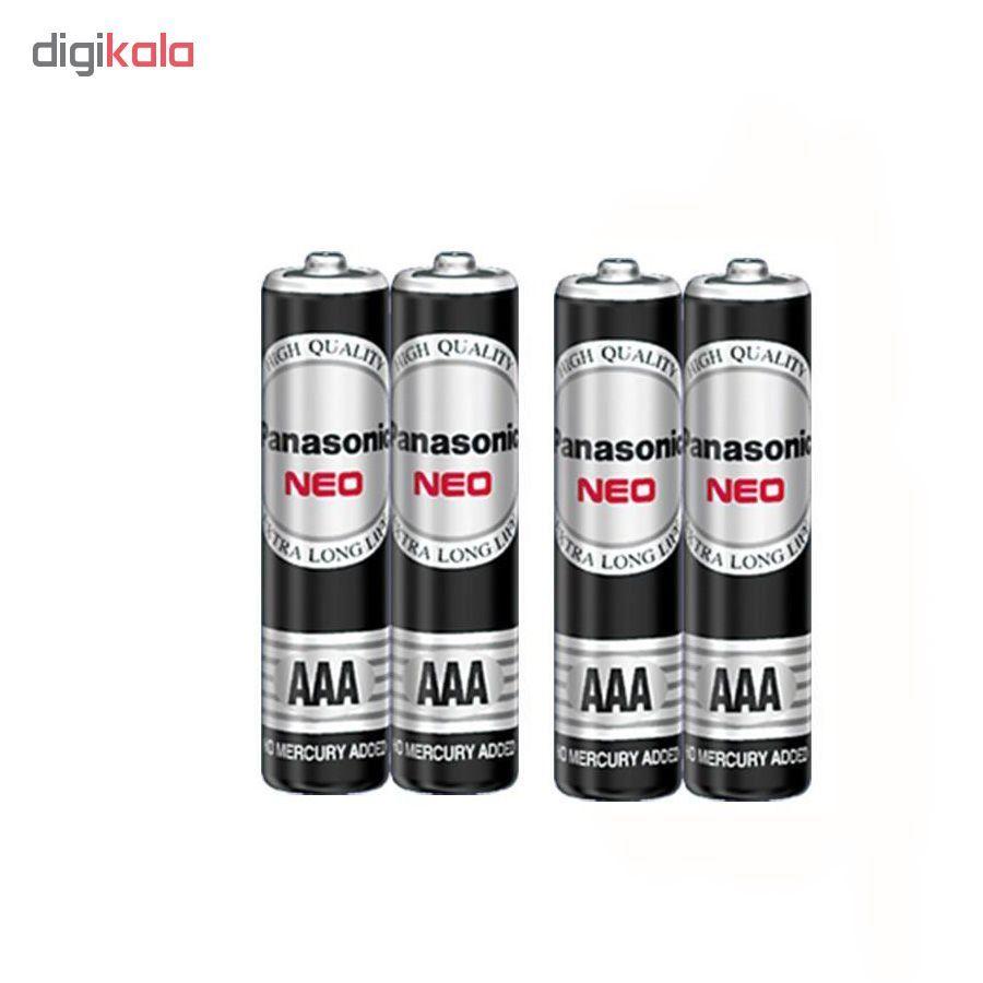 باتری نیم قلمی پاناسونیک مدل  NEO  بسته 4 عددی main 1 1