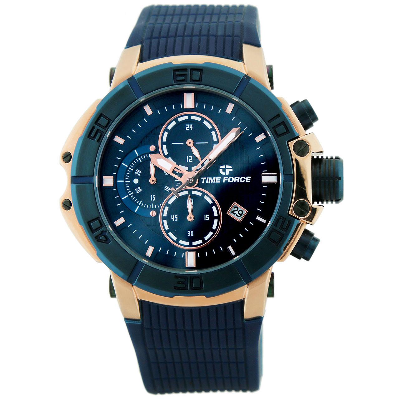ساعت مچی عقربه ای مردانه تایم فورس مدل TFA5000MR03