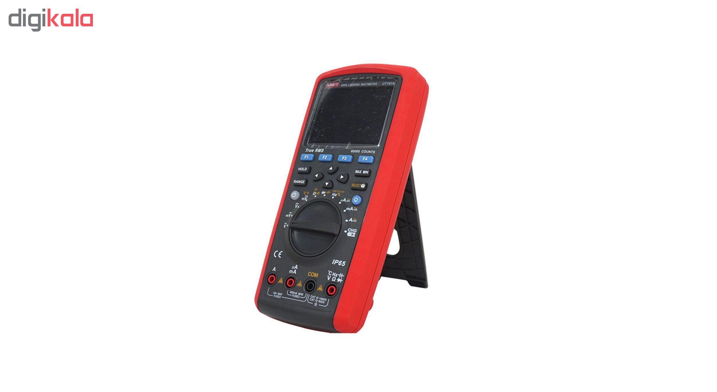 مولتی متر دیجیتال یونی-تی مدل UT181A