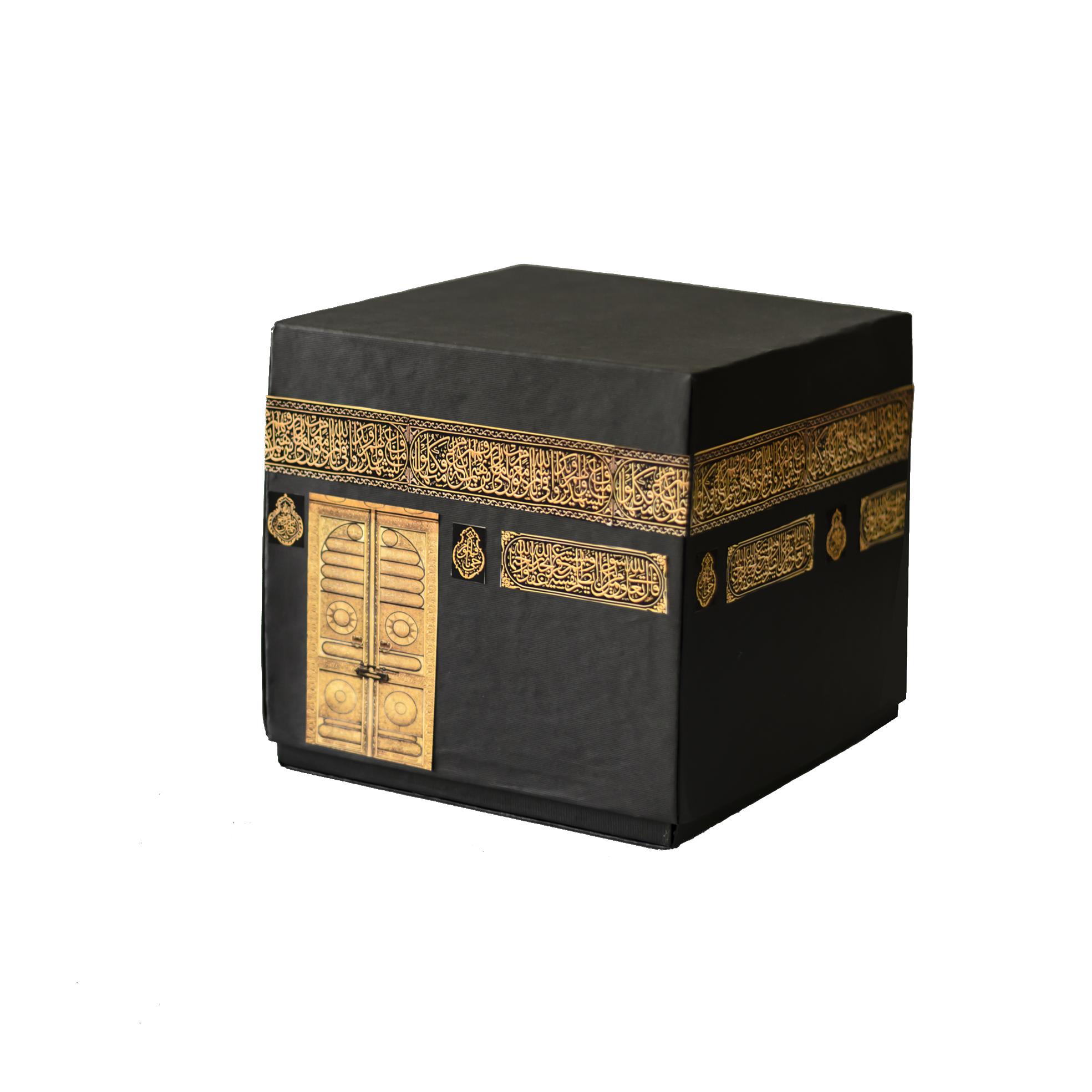 جعبه هدیه طرح کعبه سایز بزرگ