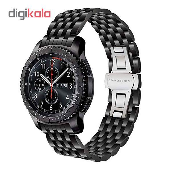 بند ساعت هوشمند مدل 7Beads مناسب برای ساعت هوشمند سامسونگ Gear S4 SM-r810 main 1 3