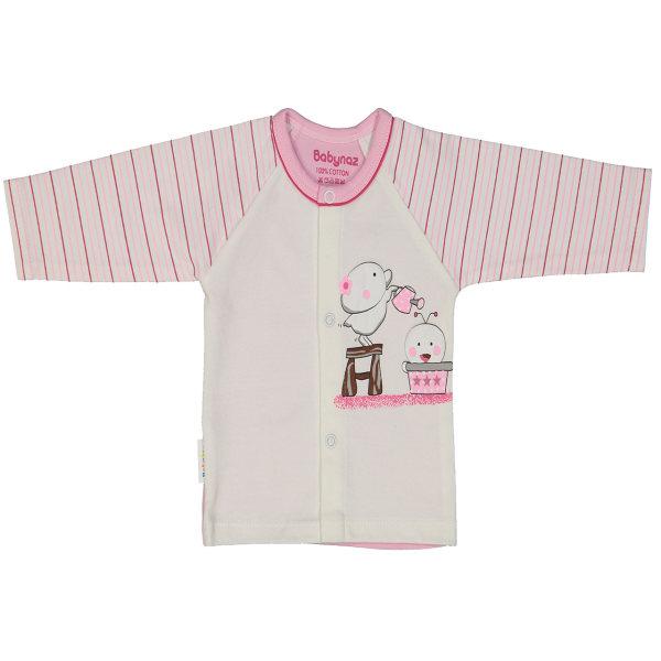 بلوز نوزادی دخترانه بی بی ناز کد 243