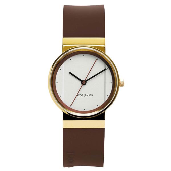ساعت مچی عقربه ای زنانه جیکوب جنسن مدل New Series 768