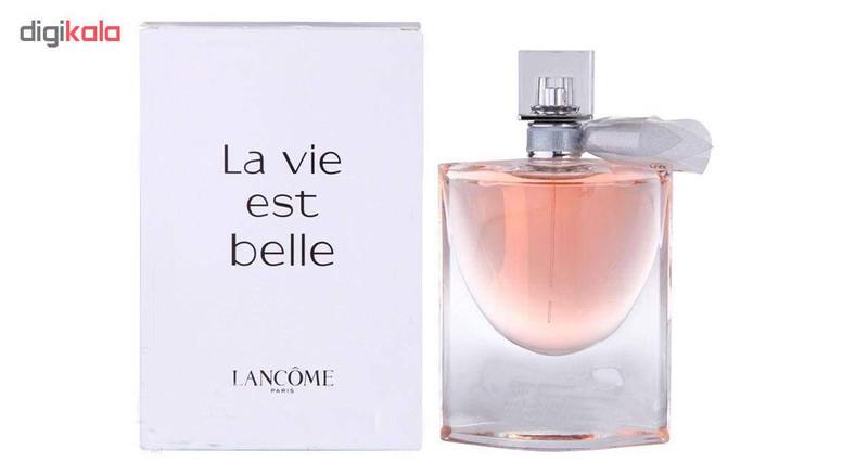 تستر ادو پرفیوم زنانه لانکوم مدل La Vie Est Belle حجم 75 میلی لیتر