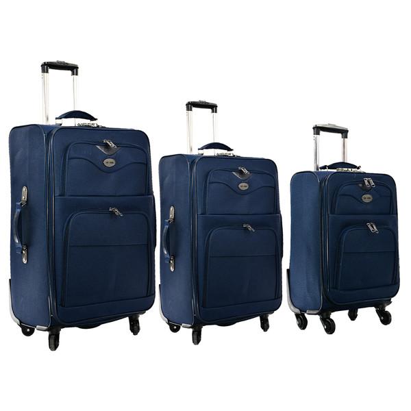مجموعه سه عددی چمدان تاپ یورو مدل 2019