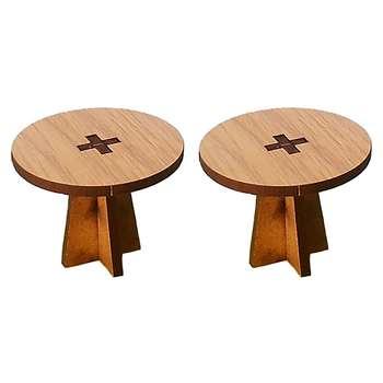 ماکت دکوری طرح میز بسته 2 عددی