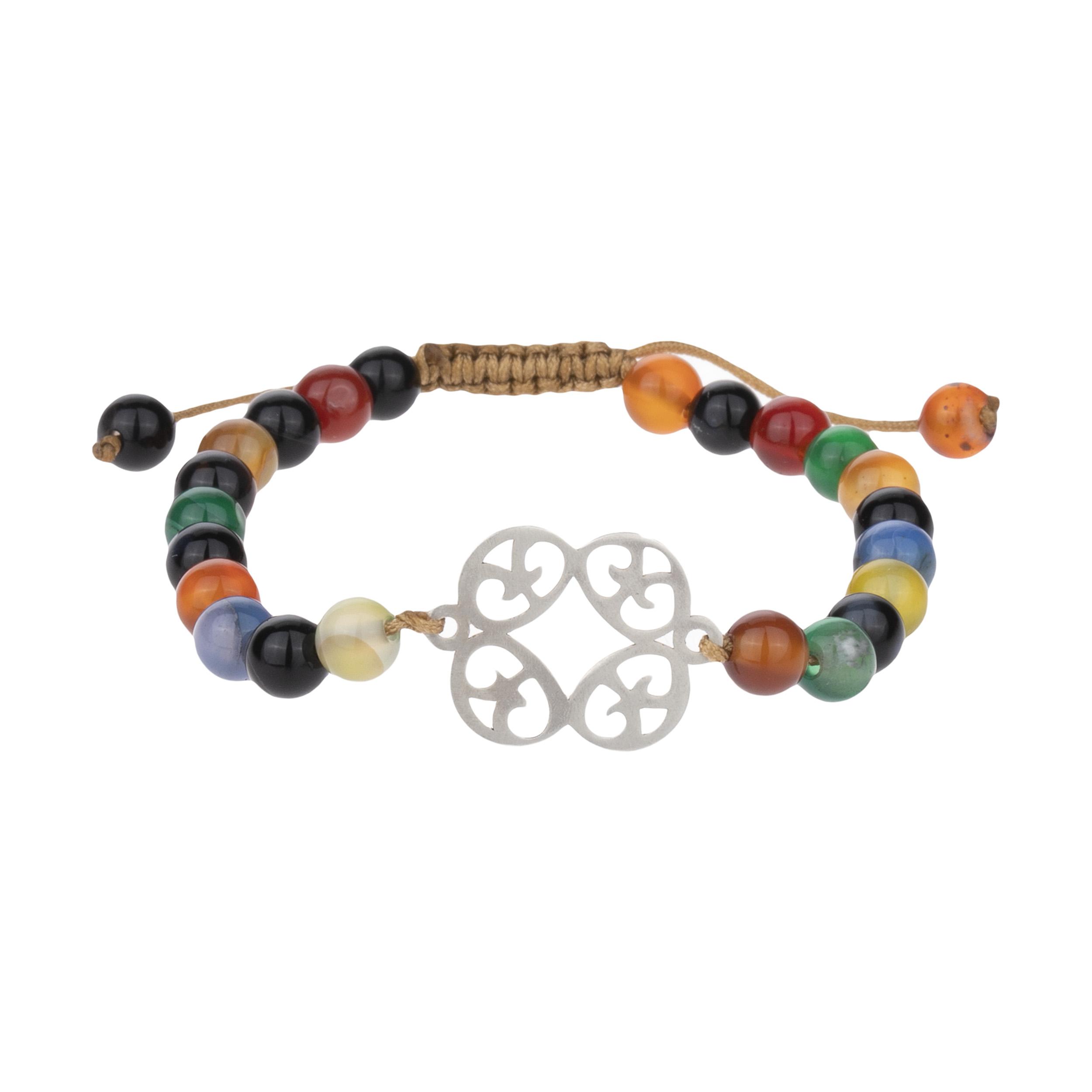 قیمت دستبند نقره زنانه هونام کد H-13