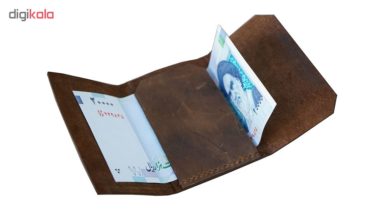 کیف پول مردانه چرم لانکا مدل PF-4