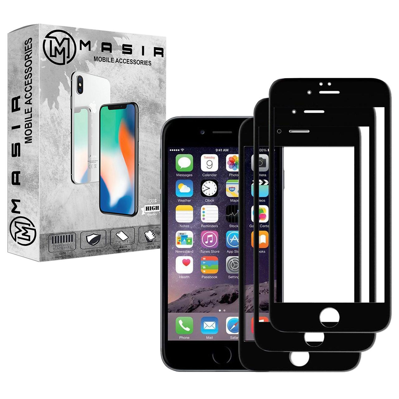 محافظ صفحه نمایش مسیر مدل MGF-3 مناسب برای گوشی موبایل اپل iPhone 6/6S  بسته سه عددی