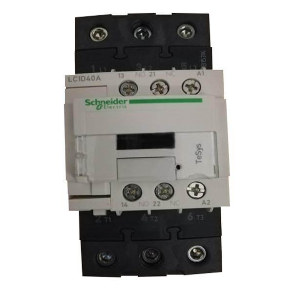 کنتاکتور اشنایدر الکتریک مدل LC1D40A  ظرفیت 40 آمپر
