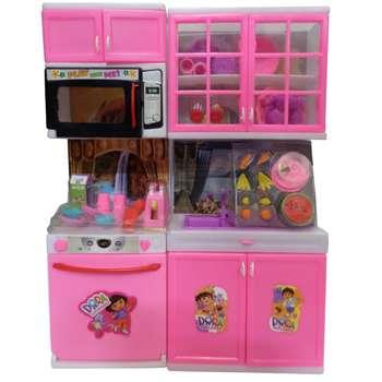 ست آشپزخانه اسباب بازی مدل دورا k122