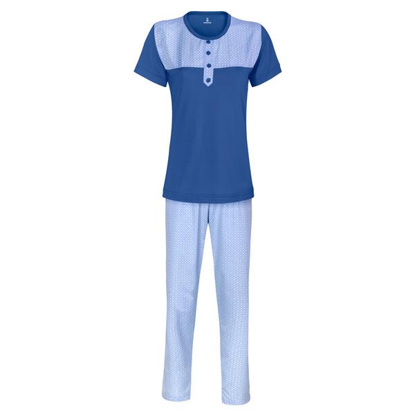 ست تی شرت و شلوار زنانه ساروک مدل TkDz رنگ آبی