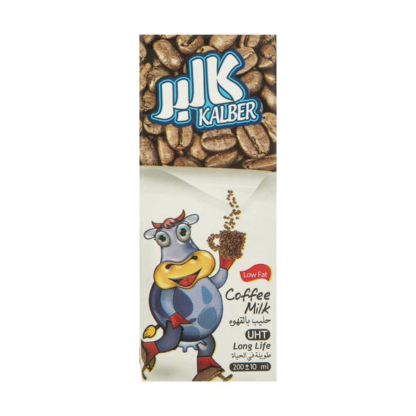 شیر قهوه کم چرب کالبر حجم 200 میلی لیتر
