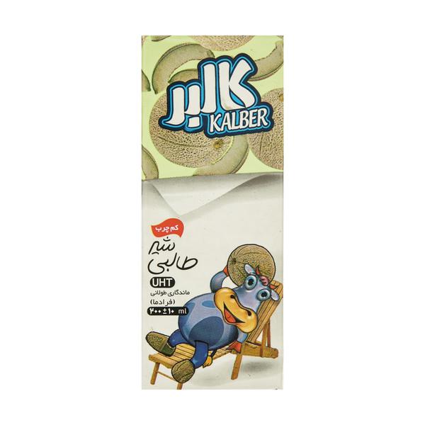 شیر طالبی کم چرب کالبر حجم 200 میلی لیتر