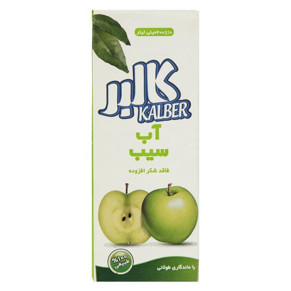 آب سیب کالبر حجم 200 میلی لیتر