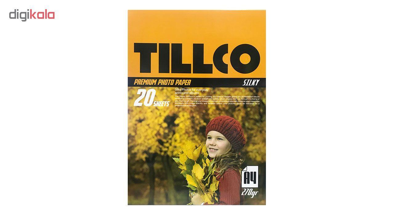 کاغذ چاپ عکس مات تیلکو مدل NG006338 سایز A4 بسته 20 عددی main 1 1