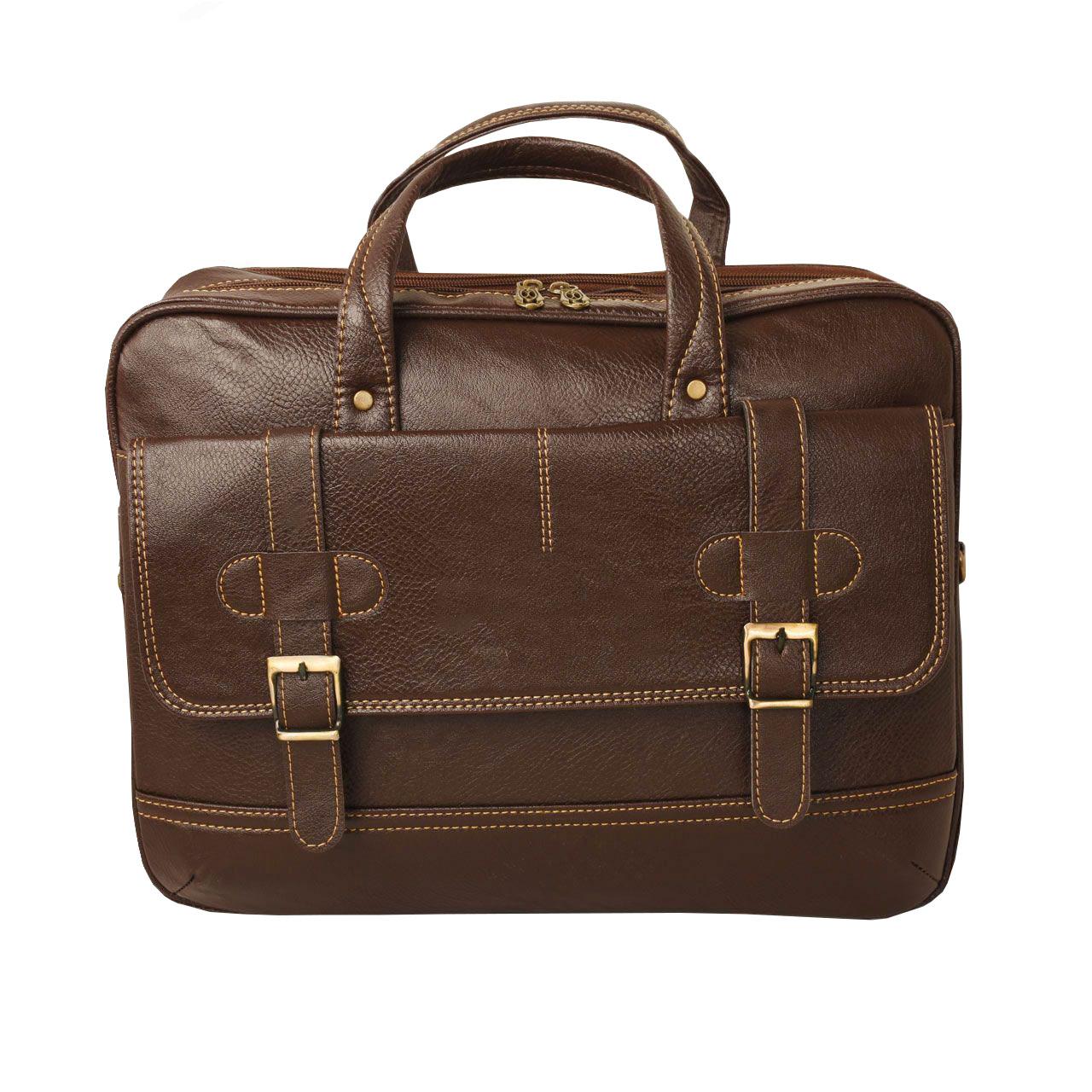 قیمت کیف اداری مردانه پارینه مدل P228-15
