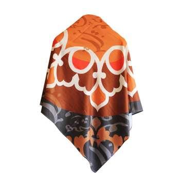 روسری زنانه دایان مدل سیاه مشق کد 007