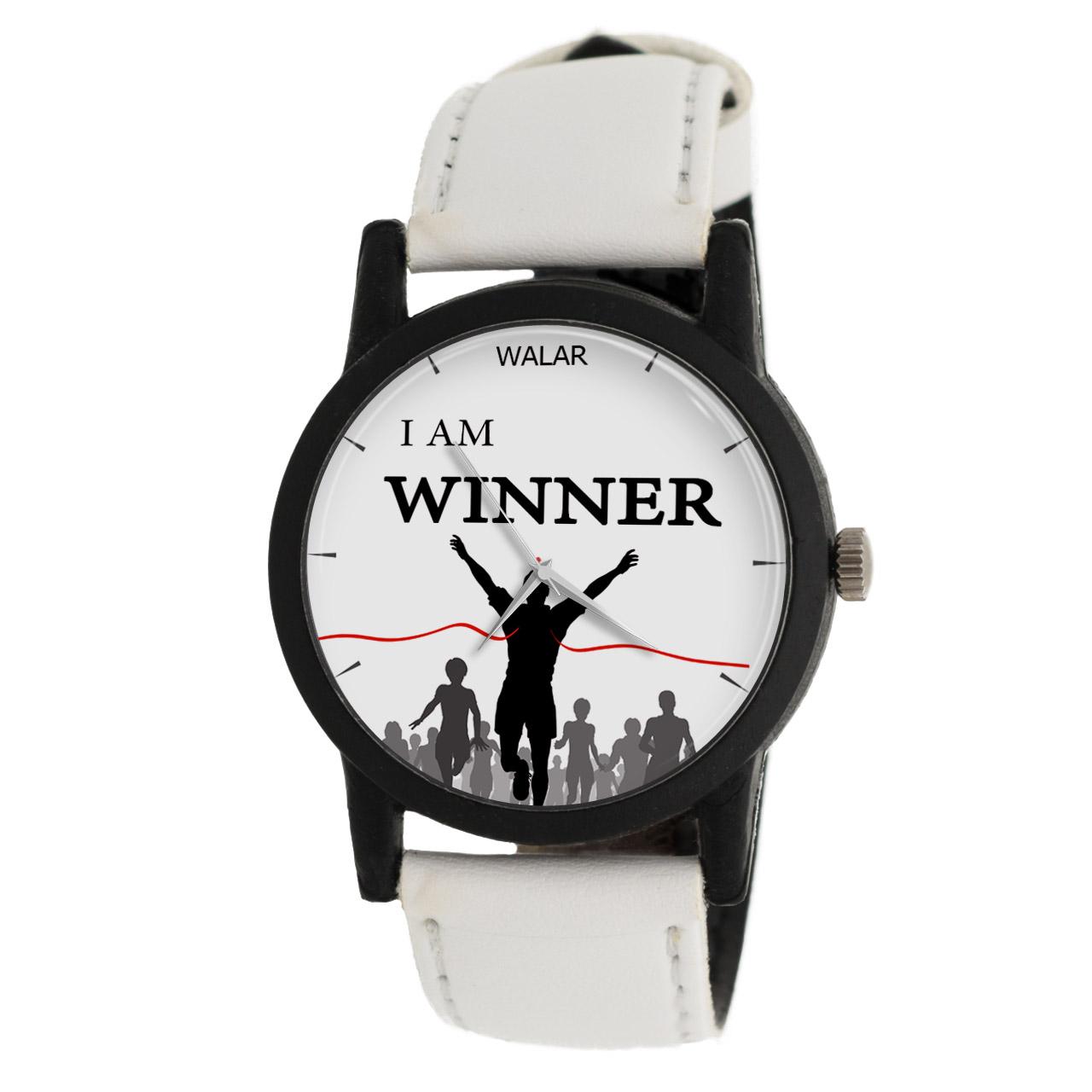 ساعت مچی عقربه ای والار طرح I Am Winner مدل LF1388