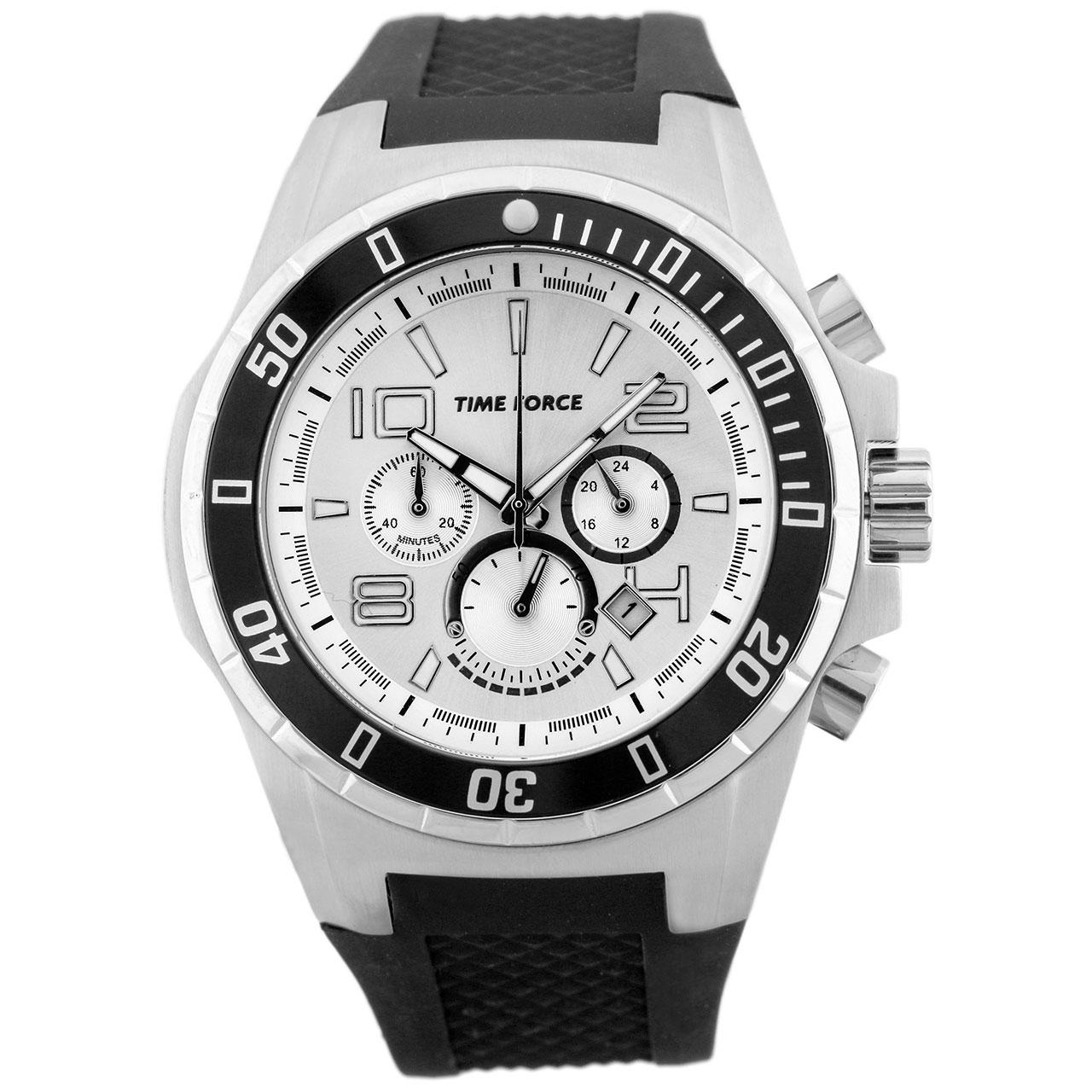 ساعت مچی عقربه ای مردانه تایم فورس مدل TF3395M02