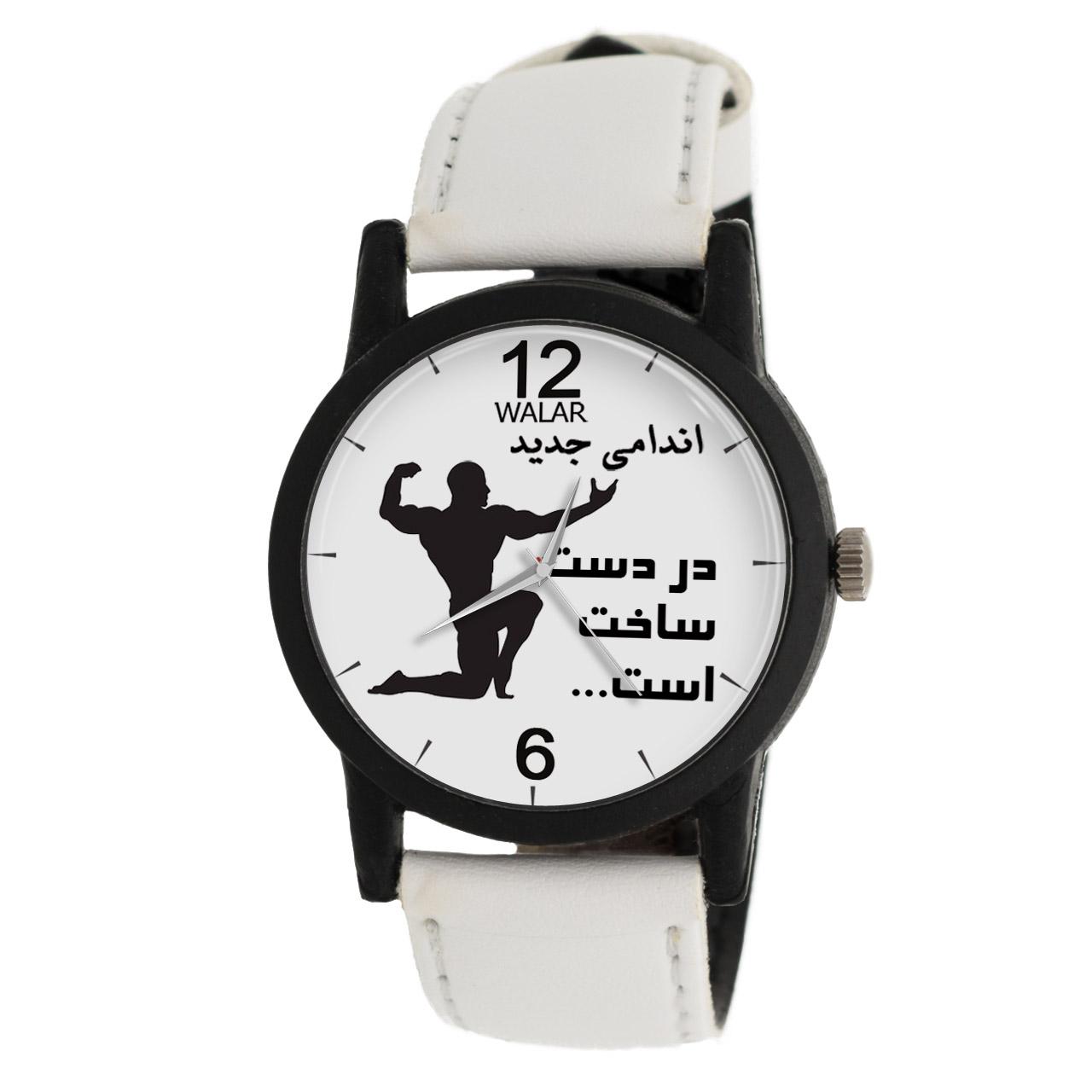 کد تخفیف                                      ساعت مچی عقربه ای مردانه والار طرح بدنسازی مدل LF1397
