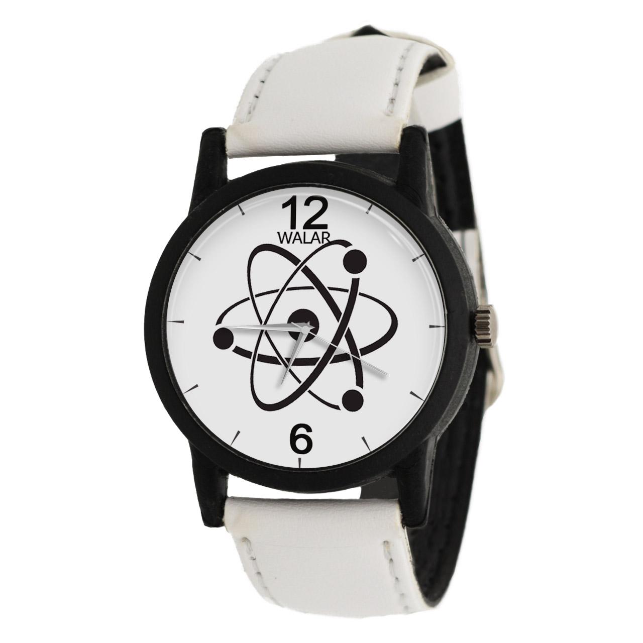 کد تخفیف                                      ساعت مچی عقربه ای والار طرح فیزیک مدل LF1398