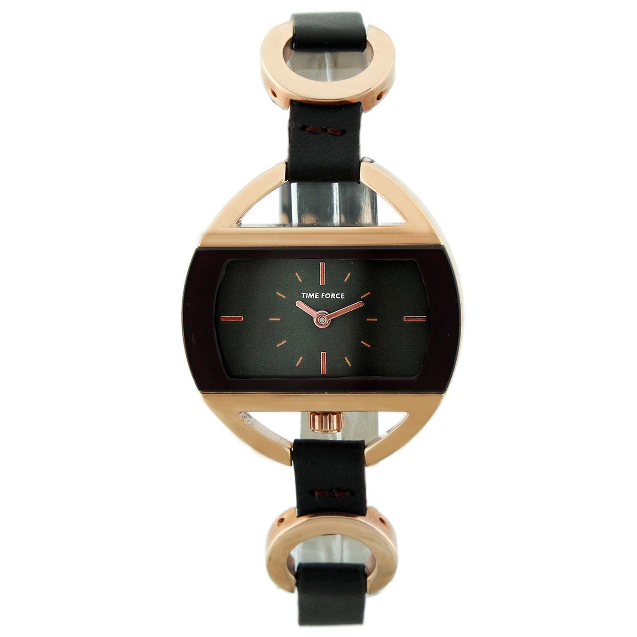 ساعت مچی عقربه ای زنانه تایم فورس مدل TF3397L15M