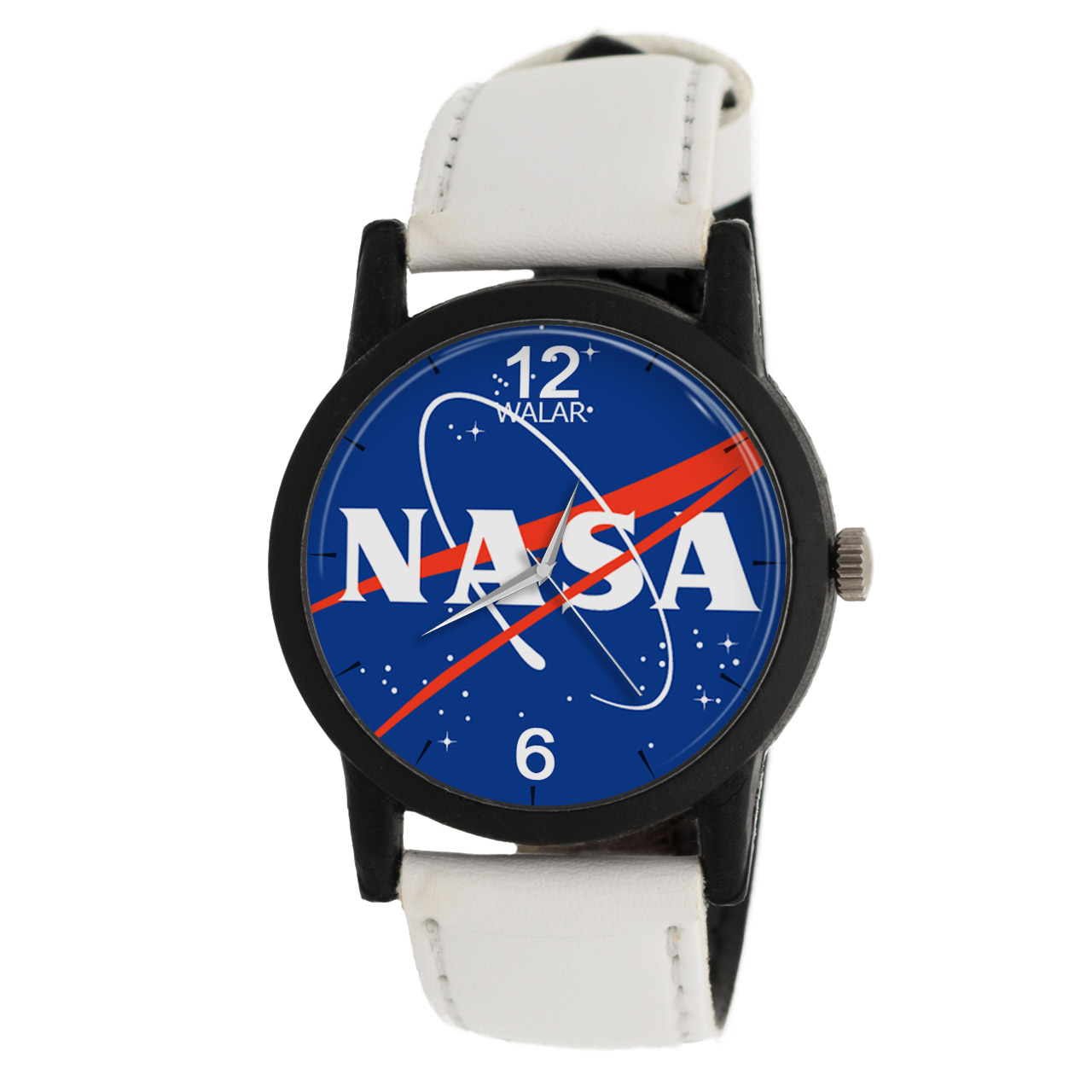 ساعت مچی عقربه ای والار طرح ناسا مدل LF1399