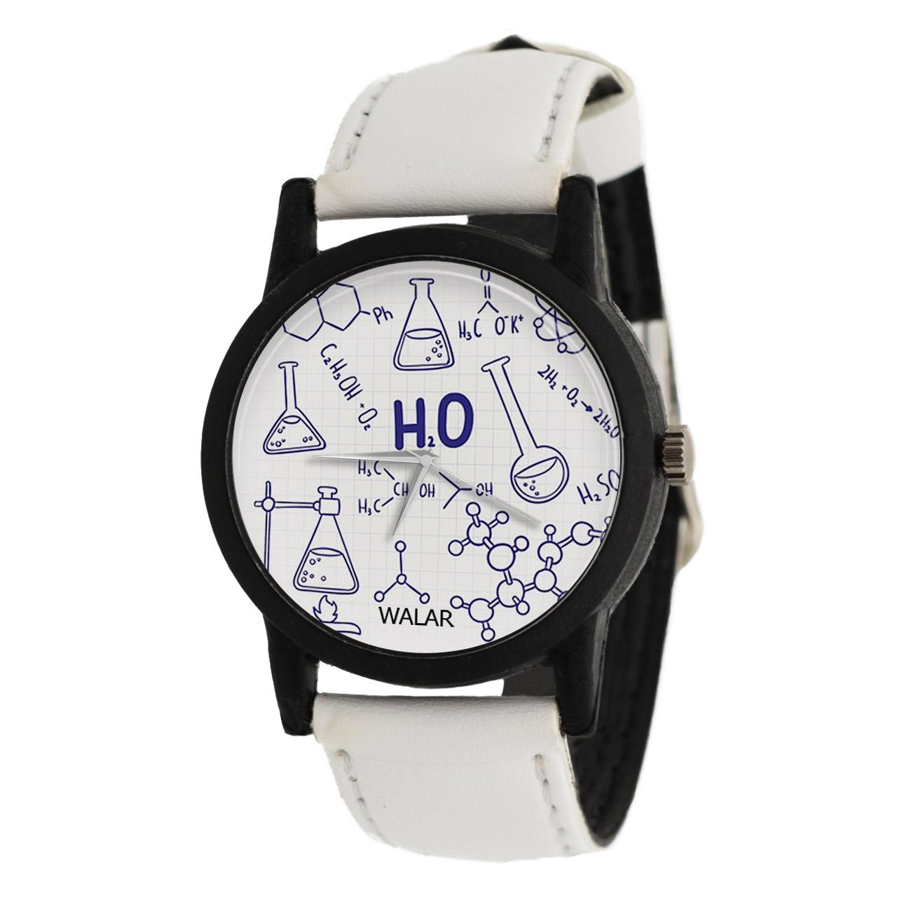 ساعت مچی عقربه ای والار طرح شیمی مدل LF1400
