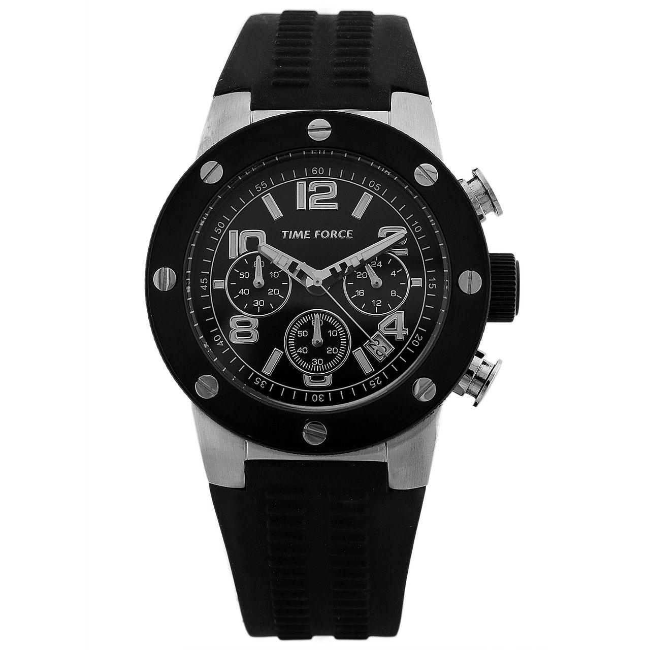 ساعت مچی عقربه ای مردانه تایم فورس مدل TF4004M01
