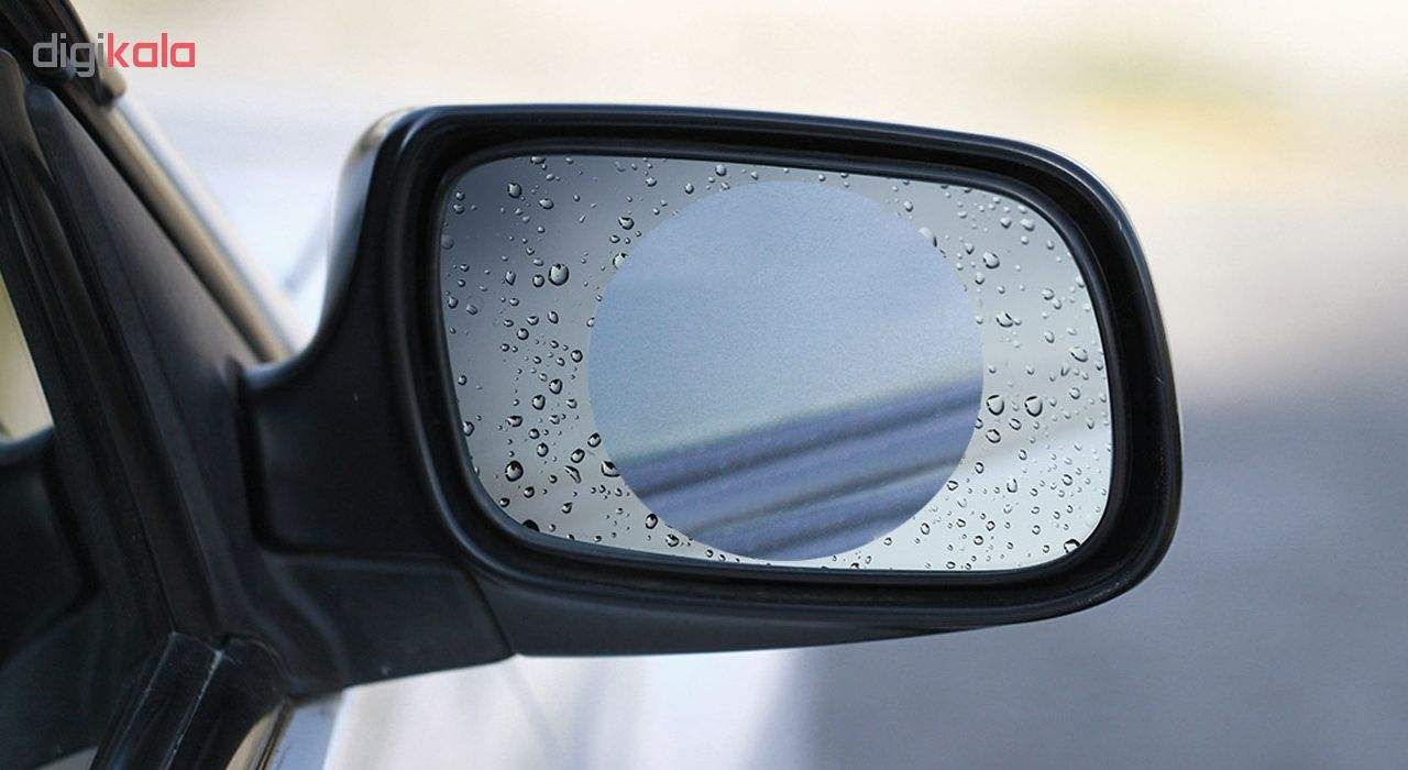 برچسب و محافظ ضد آب شیشه آینه خودرو کد 3441 بسته 2 عددی main 1 5