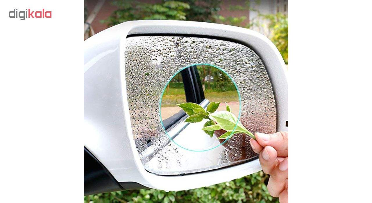 برچسب و محافظ ضد آب شیشه آینه خودرو کد 3441 بسته 2 عددی main 1 6