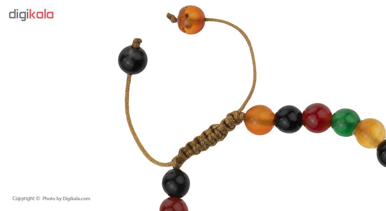 دستبند نقره زنانه هونام کد H-13